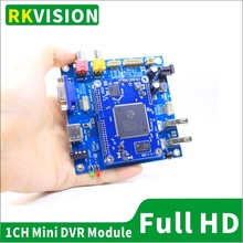 1CH real-time video recorder board AHD1080P HD DVR module for CCTV/industrial, medical surgical endoscope video HDMI HD output
