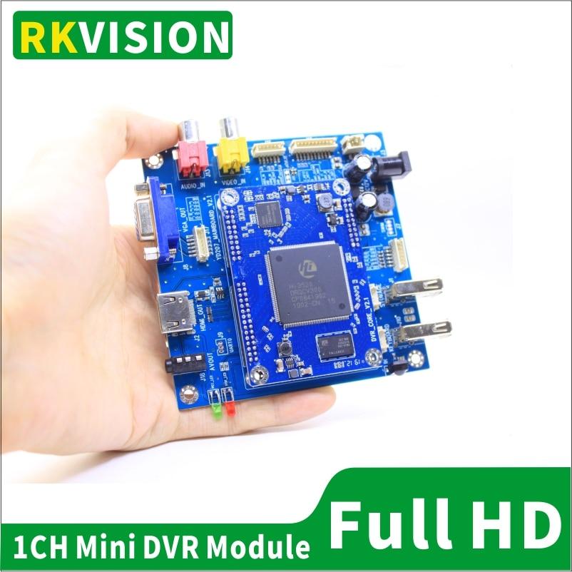 1CH wideorejestrator w czasie rzeczywistym AHD1080P hd dvr moduł do CCTV/przemysłowe, medyczne chirurgiczne endoskop wideo HDMI wyjście hd