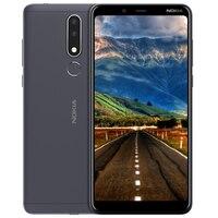 NOKIA 3.1 Plus Smart Phone 6.0 Helio P22 Octa core RAM 3GB ROM 32GB Dual SIM + Micro SD Card Slot 3500mAh 4G Mobile Phone