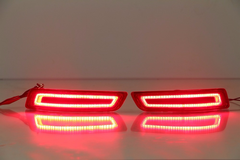 For Toyota Corolla 2014 2015 2016 Multi-function Car LED Rear Fog Lamp Bumper Light Brake Lights Turn Signal Light Reflector