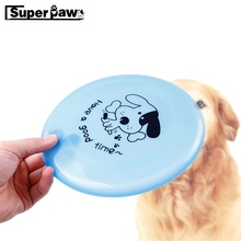 Dog Flying Disk Fantastic Pet Dogs Plastic Flying Disc Tooth Resistant Training Toy Play Tide Frisby Toys Diameter: 20CM MDT11 fun plastic flying disk for kids red