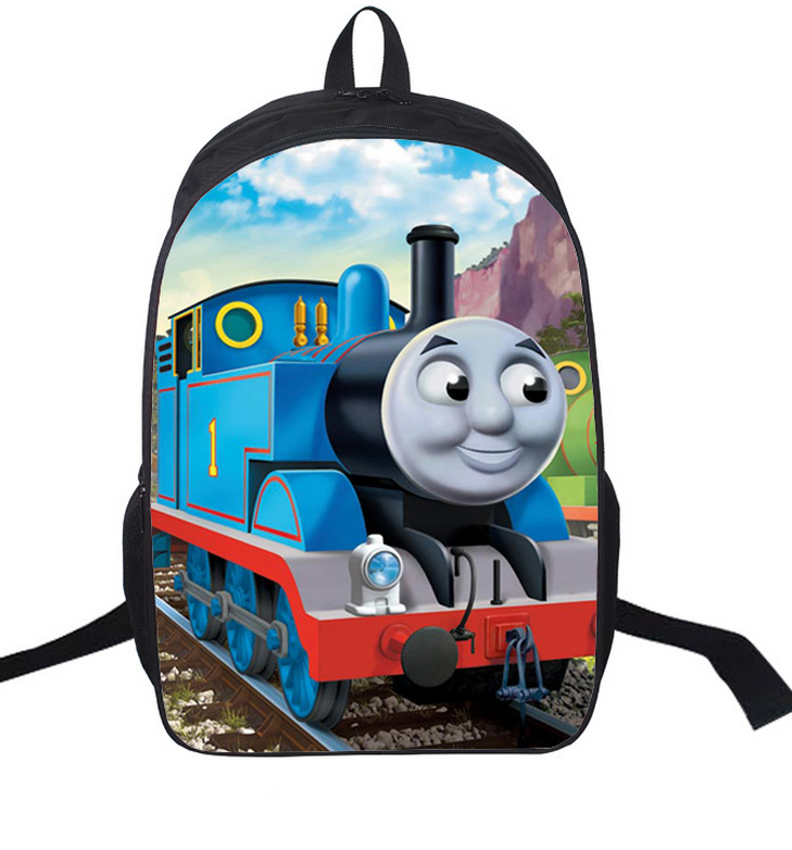 16 inch Kids Backpack Thomas and Friend Children School Bags For Boys Orthopedic Backpac ...