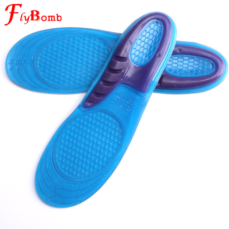 Sports Shoe Insoles for Men and Women Medical Silicone Flat Foot Correct Athletic Insoles Support for Shoes Ccomfort Pads LT105