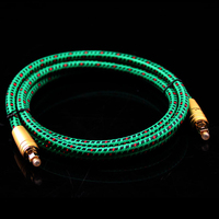 Hifi Optical Fiber Cables Professional 5.1 for DTS TV box PS4 Speaker Wire Soundbar Amplifier Subwoofer
