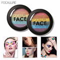 A FOCALLURE brand 2 Colors/Set Women Makeup Eyeshadow Palette matte Shimmer Powder Contour Eye Shadow Powder Cosmetic New