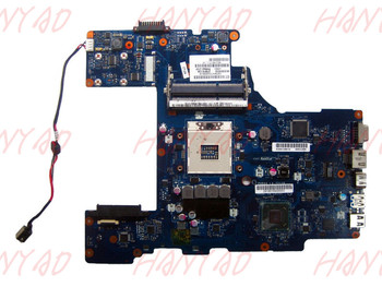 LA-7212P for toshiba p770 P775 laptop motherboard HM65 GMA HD3000 DDR3 for hp 8540p 8540w laptop motherboard 595764 001 la 4951p motherboard ddr3 free shipping 100