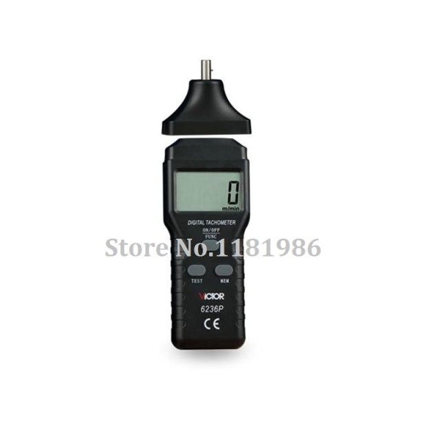 victor 6236p vc6236p non contact digital tachometer rpm meter 2 5victor 6236p vc6236p non contact digital tachometer rpm meter 2 5~99,999rpm laser photo