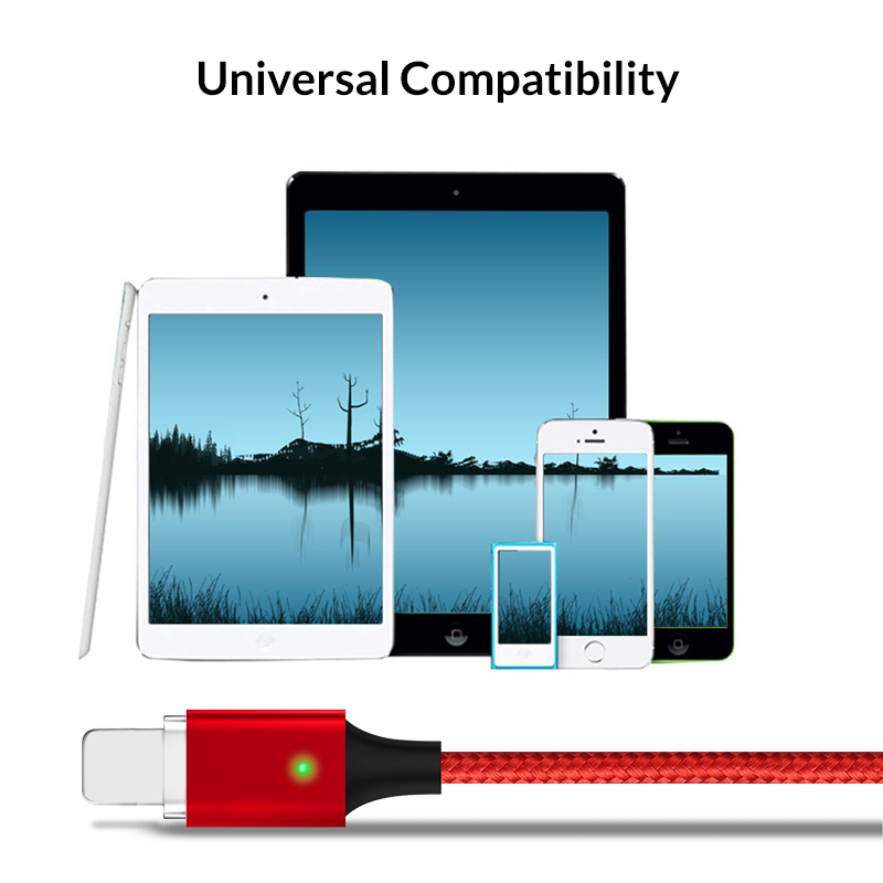 Data USB Cable for lightning cable ELFMIC 2 1A fast charger charging Cable for iPhone 5s X 8 7 6s 5 se for iPhone cable for iPad in Data Cables from Consumer Electronics