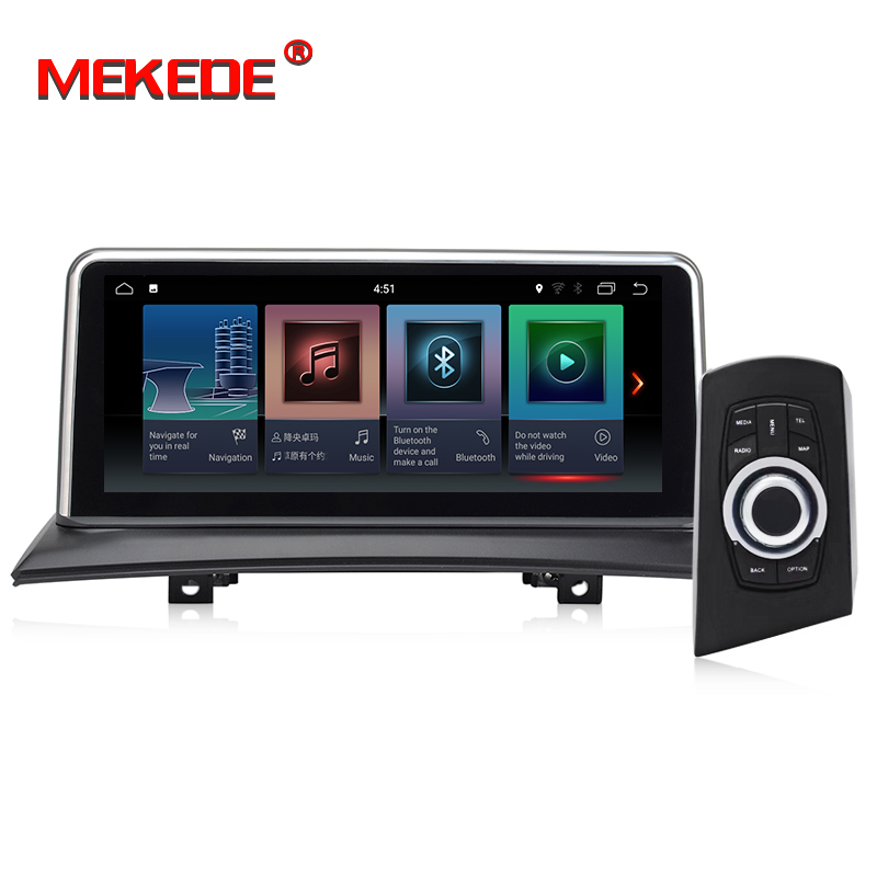MEKEDE 10.25'' Android 7.1 Car Navigation Player car DVD Smart system For BMW X3 E83 (2004-2009) with iDrive Car Audio Car GPS