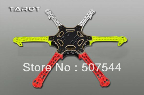 Tarot aircraft parts 6-axis Frame new type TL2778-02 free shipping with tracking tarot 500 spare parts tl50200 02 main frame set tarot 500 parts free shipping with tracking