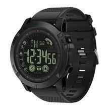 SOONHUA уличные спортивные водонепроницаемые смарт-браслеты Bluetooth V4.0 долгий режим ожидания Смарт-часы тактические военные дистанционные часы с камерой