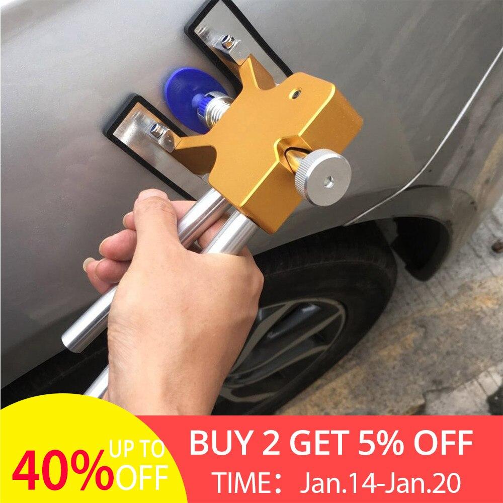 Auto Körper Paintless Dent Lifter Repair Tool Puller + 18 Tabs Hagel Entfernung Werkzeuge für bmw e46 90 ford focus für freies drop verschiffen UNS