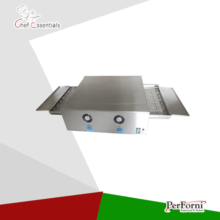 PF-EP-32 Stainless Steel Electric conveyor pizza oven chain pizza oven 32 for commercial pizza pfml nb400 stainless steel high temperature deck baking pizza oven machine for pizza shop