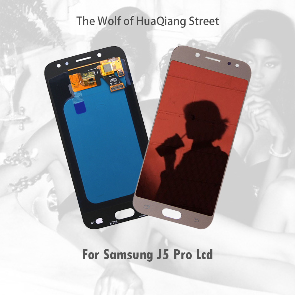 AAA Original meilleur Amoled Lcd écran tactile pour Samsung Galaxy j5 pro 2017 J530 J530F affichage numériseur remplacement J5 pro