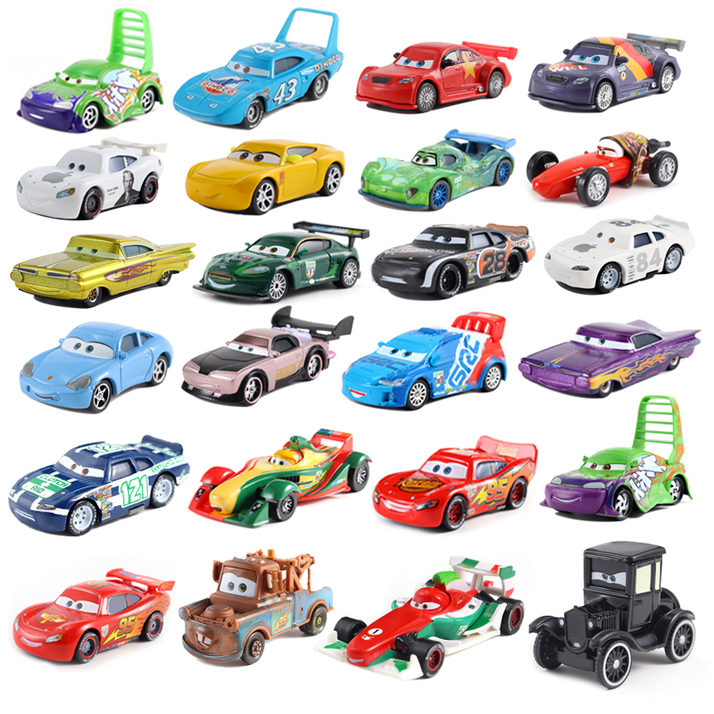 Cars Disney Pixar Cars 3 Cars 2 Sally Champion Jackson Storm Smokey Diecast Metal Car Model Birthday Gift Toy For Kid 39 Style