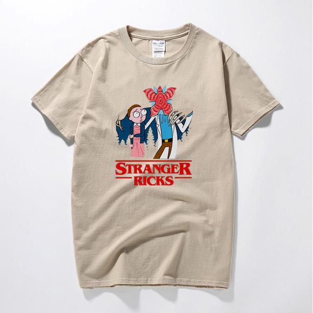 STRANGER RICKS T-SHIRT (10 VARIAN)