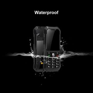 Image 2 - Официальный AGM M3 русский прочный двойной SIM открытый 2,4 Телефон IP68 водонепроницаемый ударопрочный пылезащитный фонарь 1970mAh фонарик