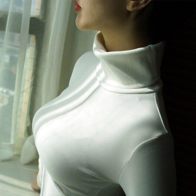 Soft Korean Style Skinny Turtleneck 3