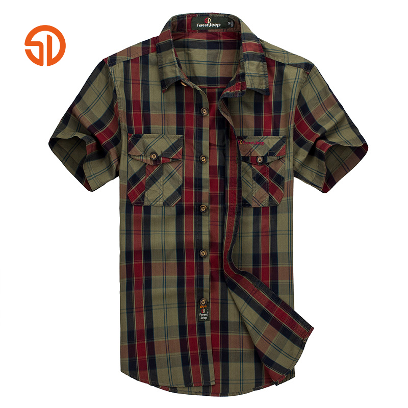 Mens Green Plaid Shirt Promotion-Shop for Promotional Mens Green ...