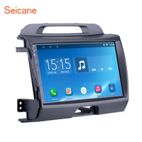 Seicane Android 6.0/7.1 9 inch Car Radio For KIA Sportage 2010 2011 2012 2013 2014 2015 2Din GPS Multimedia Player Head Unit