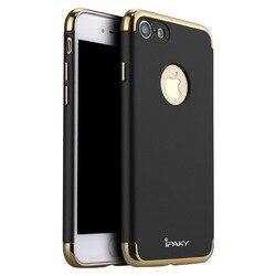 100% original IPAKY marque 3 en 1 design classique étui pour iphone 7 en plastique dur et pour iphone 7 plus couverture en plastique de luxe