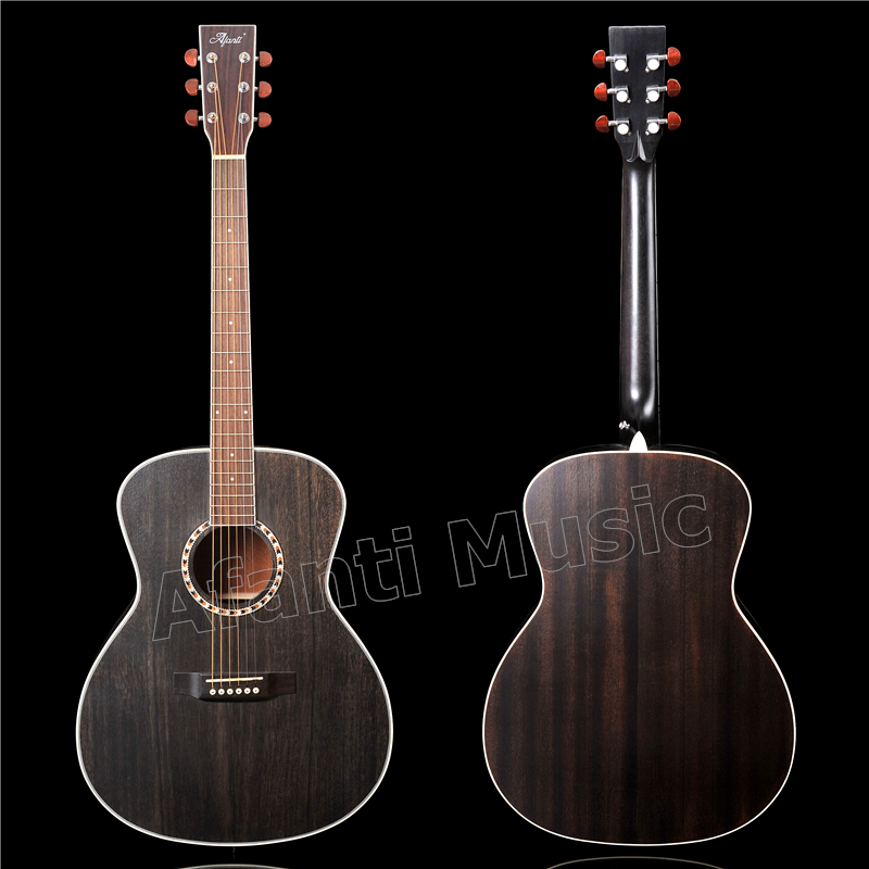 41 inch Acoustic/ Solid Africa Mahogany top / Mahogany back and sides/ AFANTI Acoustic guitar (AFA-919) acoustic metamaterials