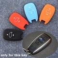 Горячие Продажи Силиконовых Ключ Чехол Для Subaru BRZ XV Outback Наследие Forester ect. 3 Кнопки Smart Remote Key 4 Цветов Дополнительно