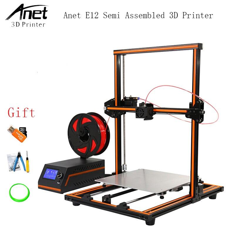 Beliebte Marke Anet E12 E10 A8 A6 3d Drucker Große Druck Größe 3d Drucker Maschine Hohe Präzision Update Gewindestange Reprap I3 3d Drucker 3d-drucker Und 3d-scanner