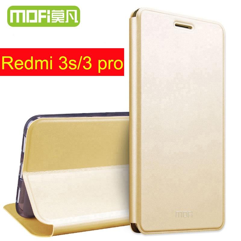 Xiaomi Redmi 3 Pro Case Flip Leather 32Gb Redmi 3S Cover 5 0