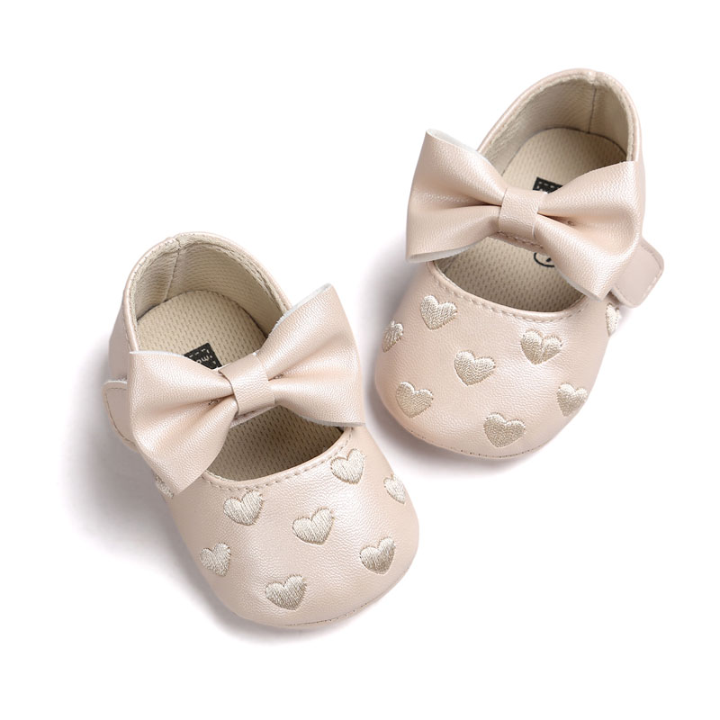 Kids Prewalkers Baby Bebe Soft Moccasin First Walkers Newborn Infant Footwear Sapatos Baby Mary Jane Shoes Princess Crib