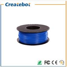 abs filament 1.75mm 3mm 3D Printer filament 1kg/spool Blue abs plastic Filament for Createbot 3d printer