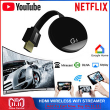 HDMI Wi Fi беспроводной ключ доступа к TV Miracast Airplay YouTube Netflix стример для Google Chromecast Cromecast 2 Chrome литой Mirascreen(China)