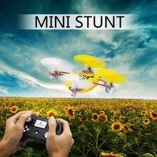 ET NONO Mini font b Drone b font 2 4G RC Toys 4CH 6Axis MiNi Quadcopter