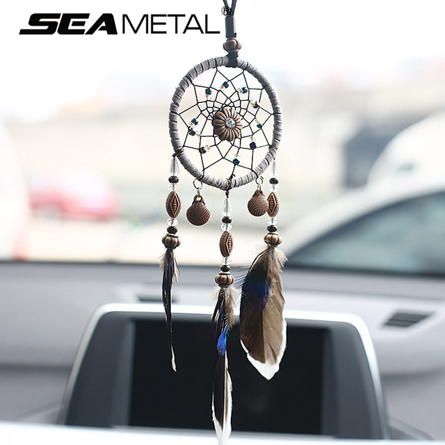 Car Pendant Ornaments Hanging Handmade Dream Catcher Indian Rearview Best Car Decoration Accessories India