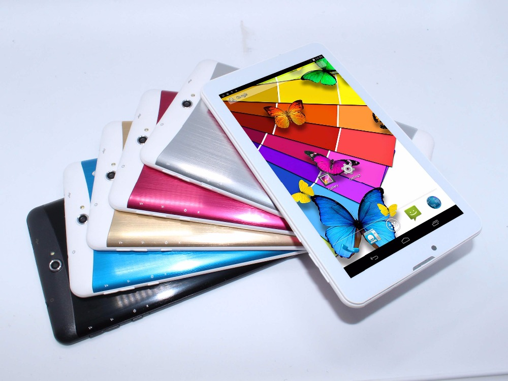 Tablet 7 inch MTK6572 2G/3G Phone call Dual SIM Bluetooth Dual camera Dual Core 512MB/4GB Android 4.2 tablet !free shipping! HOT