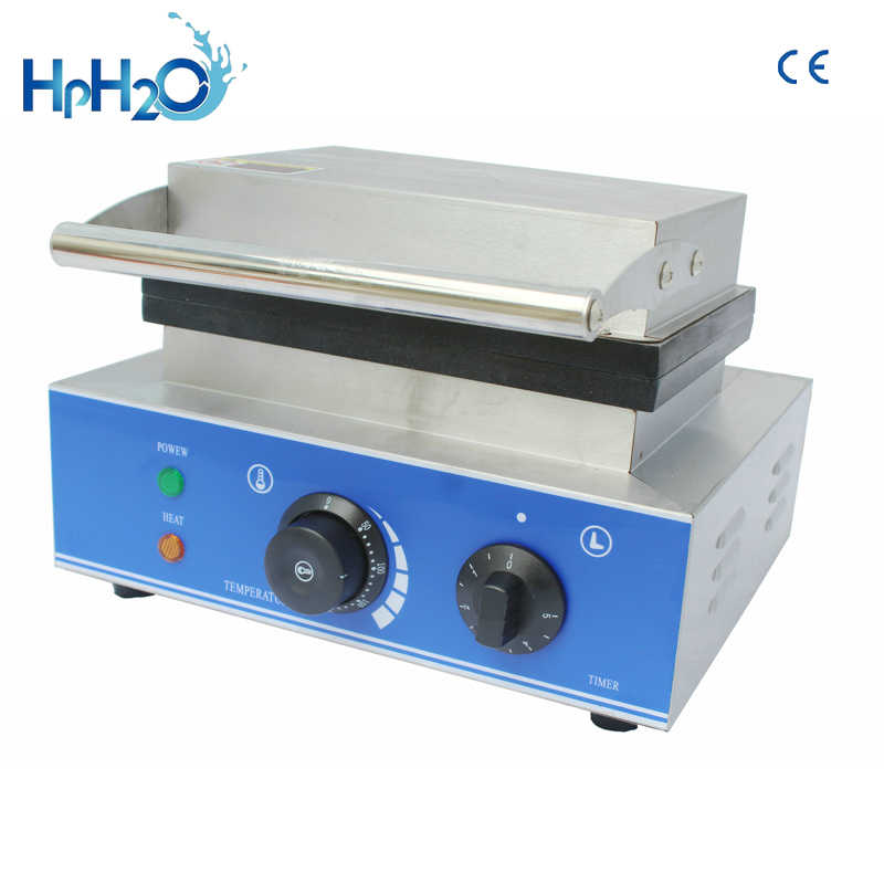CE وافق 110 فولت/220 فولت التجاري الكهربائية 3 قطع الساخن لوحة ماكينة صنع الوافل مربع الهراء صانع آلة