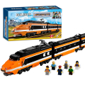 Lepin 21007 Horizon Express Technic Creators Train Building Bricks Blocks New year Gift Toys for Children Boy ecudational 10233