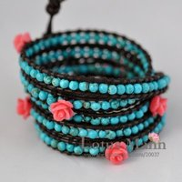 bestseller 5 wrap turquoise bracelet with wholesale and retail