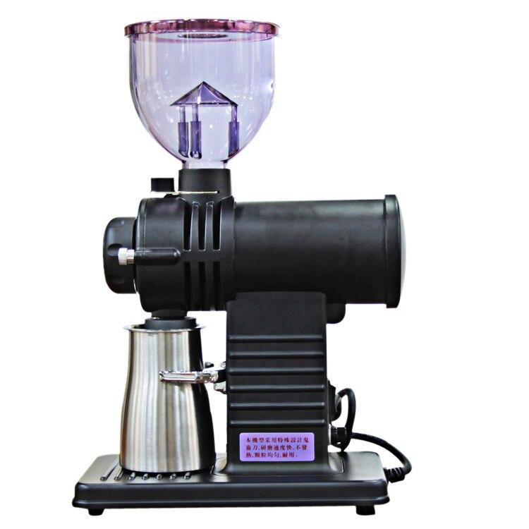 220V 110V 10 gears coffee bean grinder ghost teeth burr mill coarse fine grinding machine
