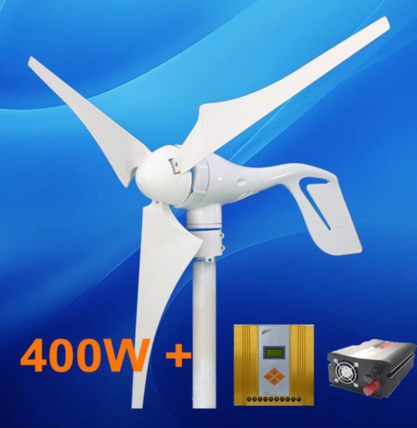 все цены на 400W Wind turbine Generator Power System + Hybrid 600w Wind Solar Controller + 500w inverter в интернете