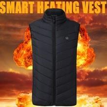 цена Facecozy Men&Women Winter Electric Heating Vest Warm USB Safety Intelligent Heating Waistcoat New Hot Sleeveless Sports Jacket онлайн в 2017 году