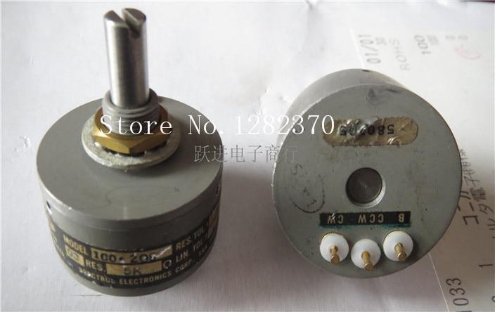 BELLA Imported British SPECTROL 5K Conductive Plastic Potentiometer 3 Feet Long Gilt Handle 20MMX6 3