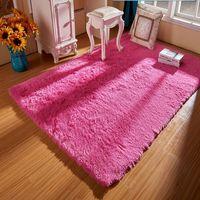 Europese stijl kan gewassen zonder fancy zijde tapijten mat woonkamer koffietafel slaapkamer bed tapijt