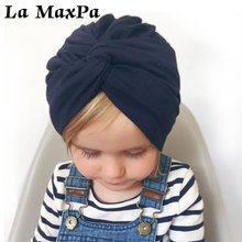 Spring Autumn Winter Baby Beanies Cap For Newborn Turban Hats India Hat Photography Props Accessories