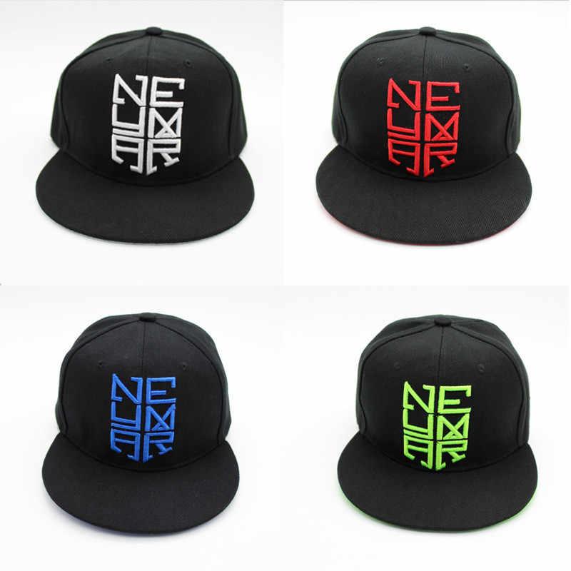 2018 carta bordado algodón gorra de béisbol Neymar sombrero hip hop  sombrero Snapback ajustable sombreros para 9d000f6a9b4
