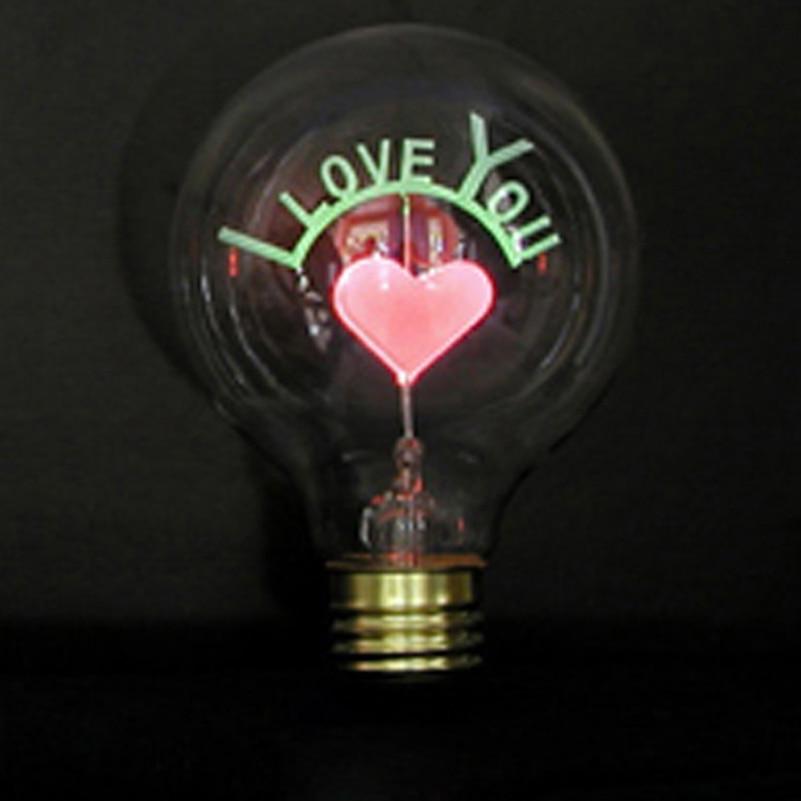 Decorative incandescent light Bulb g80 e27 220v novelty holiday light 3w flame retro wedding edison bulb indoor for home bar
