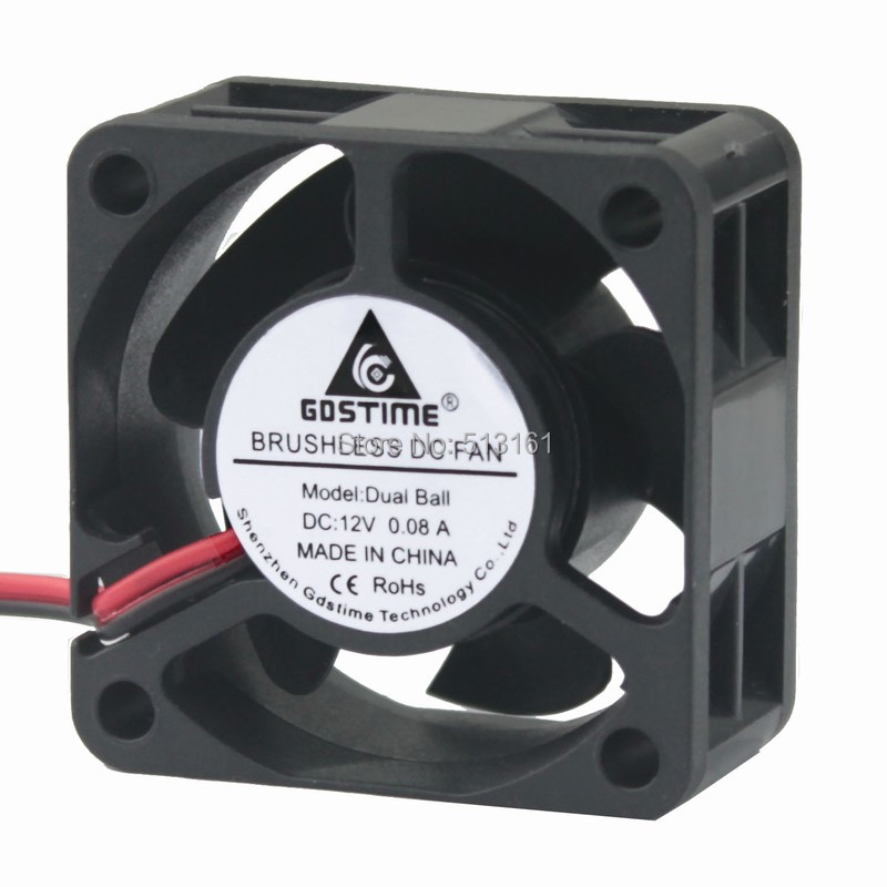 DC12V 2Pin 40x40x20mm Centrifugal Exhaust Blower Cooling Fan