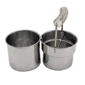 Image 5 - MyLifeUNIT Artist portable Brush Washer Washing bucket Double Layer Brush Cleaner with Wash Tank