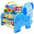 2017 Novos Blocos De Madeira Jogo Jenga Brinquedos Aprendizagem Educação Precoce Do Bebê Multi-função Criatura Rodada Bead Maze Brinquedos Animais ZS033