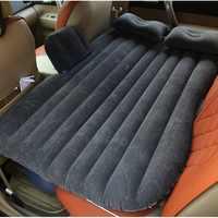 Gran tamaño Durable del asiento trasero del coche de la cubierta del colchón de aire del coche cama de viaje a prueba de humedad colchón inflable cama de aire para interior del coche
